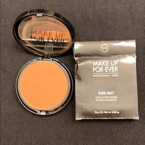 Make Up For Ever Powder Foundation- shade 218